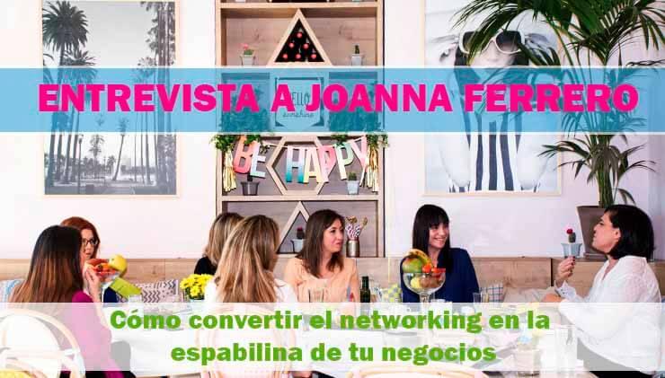 Joanna Ferrero networking