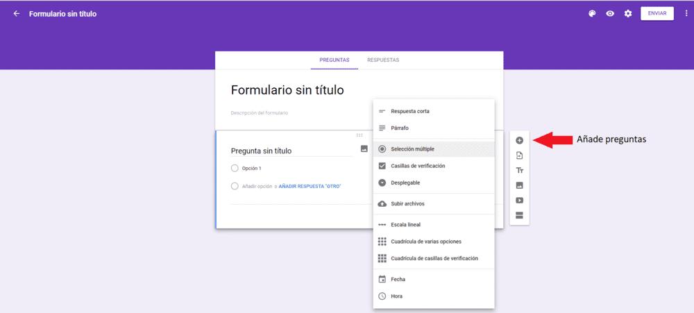 Google forms encuesta